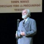 Koncsol László megnyitotta a Tompa Mihály Vers- és Prózamondó Verseny döntőjét