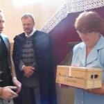 Átadták a Nagybalogon gyűjtött adományt a berzétei árvaház javára