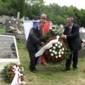 Zólyombúcson emléktáblát avattak három magyar katona sírján - 4 riport