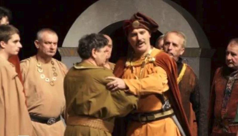 A Bánk bán a komáromi Teátrum előadásában