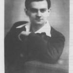 Weöres Sándor dedikált képe 1936-ból