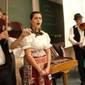 A Pósfa zenekar a nyitrai egyetemistáknak húzta