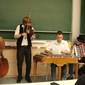 A Pósfa zenekar nyitrai fellépéséből