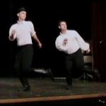 Táncol Bernáth Zoltán és Karika Bence.