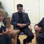 Rimaszombatba látogatott a budapesti Emberi Méltóság Tanácsa