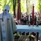 Flórián-napi szentmise-összeállítás Bősről