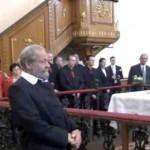 Tamás Ilonka néni templomi köszöntése