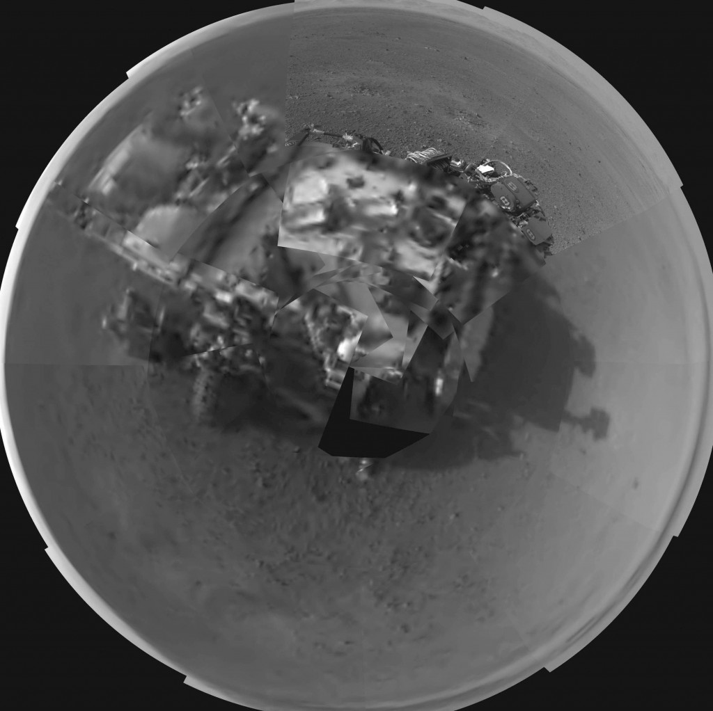 Curiosity Rover Self Portrait  PIA16012