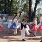 A Csallóközi Gyermektánccsoport a VII. Vásárúti Réteshúzó Fesztiválon