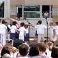 A Dunatőkési Óvoda és Alapiskola tánccsoportja