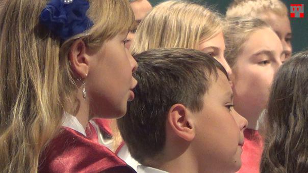 Az ipolysági Fegyverneki Ferenc Közös Igazgatású Katolikus Iskola Magnificat Gyermekkar