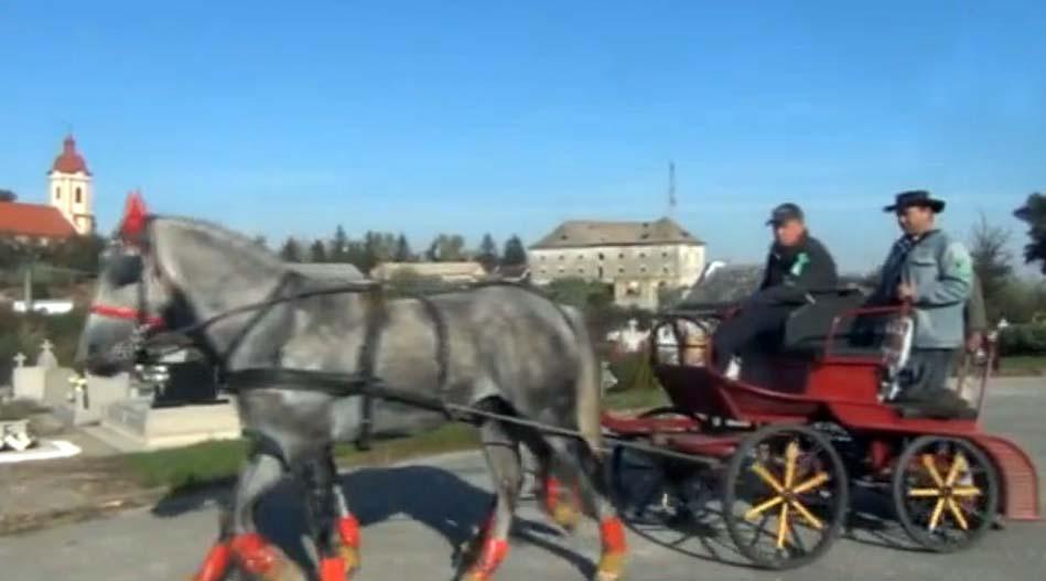 Szent Hubertus lovasnap Rimaszécs