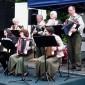 Kimle község népszerű harmonikásai Bősön