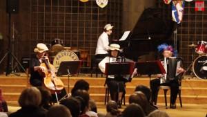 Németh-Šamorínsky István Művészeti Alapiskola - farsangi koncert, 2014