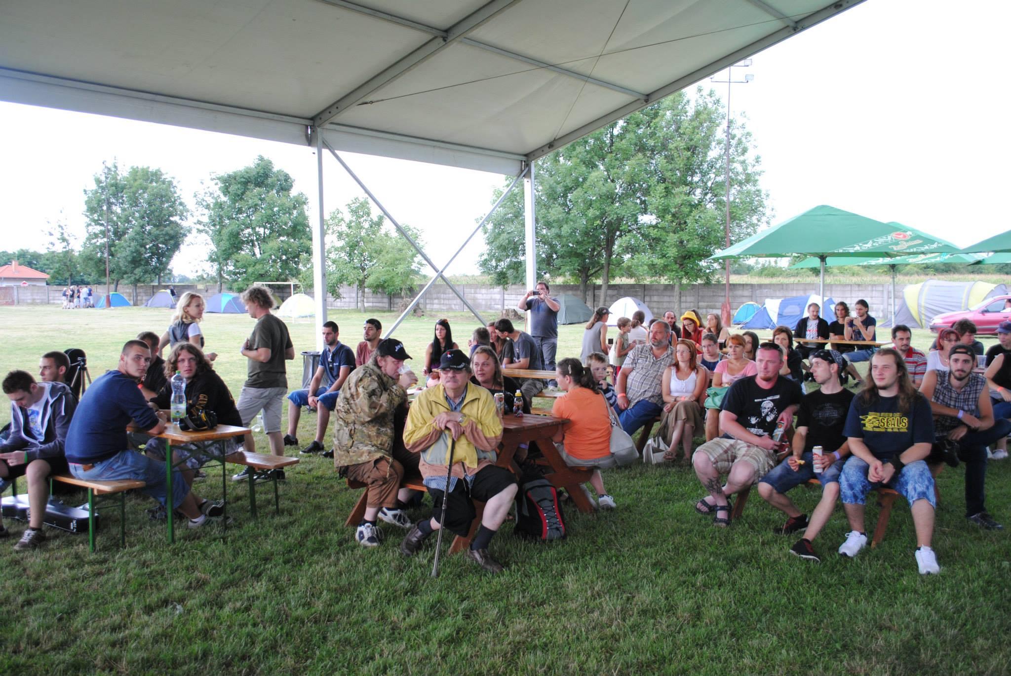A tavalyi Tumultus Fesztivál közönsége