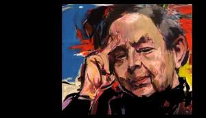Izsák József: Fejes Endre (portrérészlet)