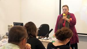 Thun Éva előadása a III.  Nőképek kisebbségben konferencián