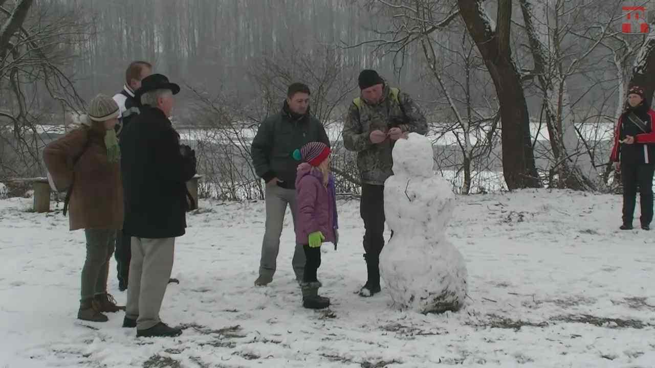 Téli túra a Hazajáró szereplőivel