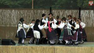 Falusi hangverseny– a gyermekcsoportok közös műsora