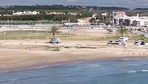 Un dron para salvar vidas en las playas de Cunit