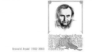 Ozsvald Árpád - Nagy József grafikája