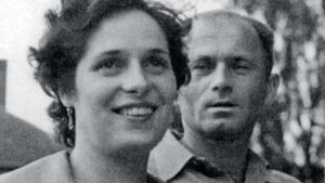 Bohumil Hrabal és Pipsi - 1956
