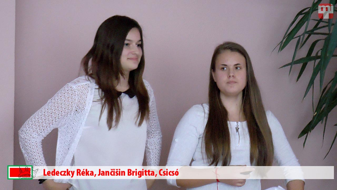 Ledeczky Réka, Jančišin Brigitta, Csicsó
