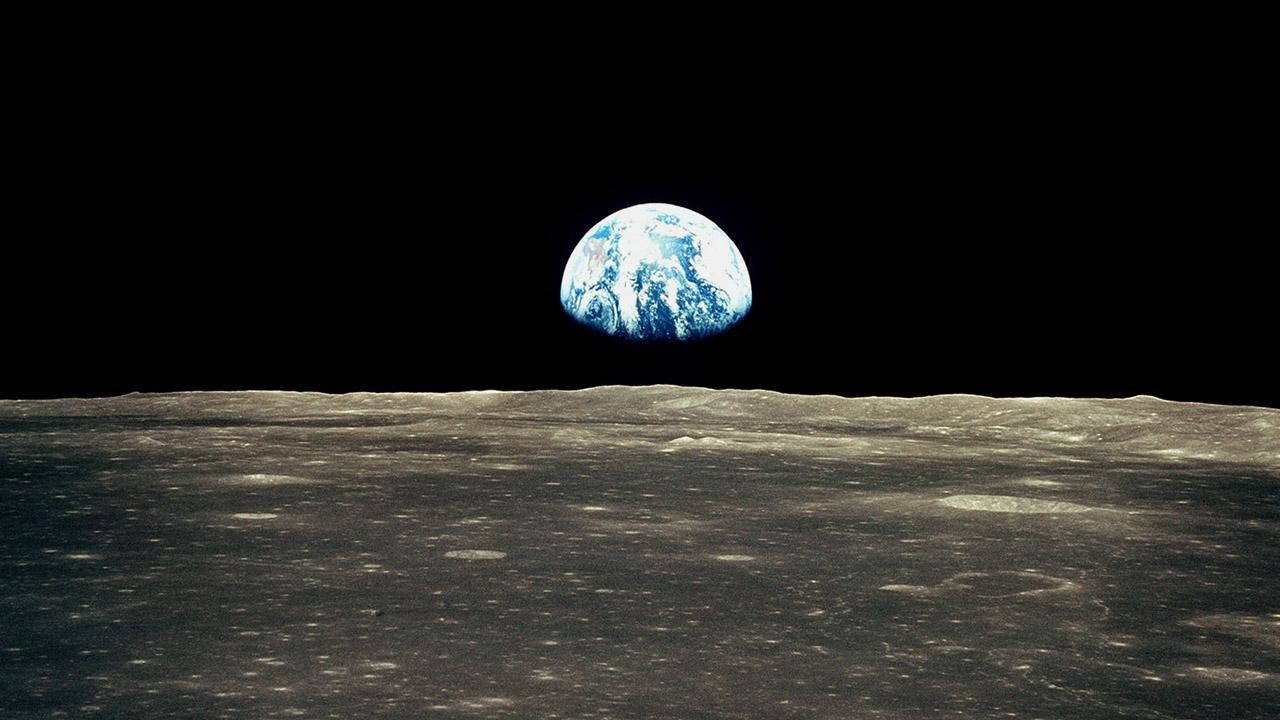 A Föld a Holdkörüli pályáról - Apollo VIII.