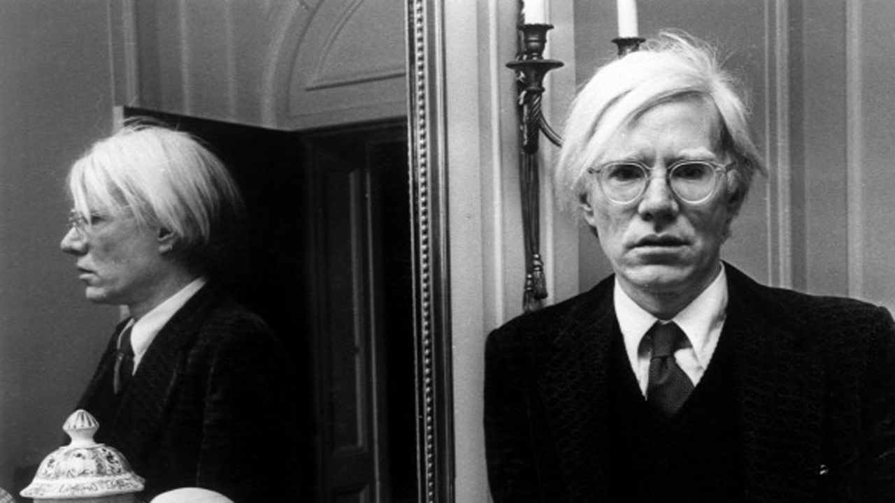Andy Warhol Londonban, 1975-ben Forrás: Getty Images/2013 RDA/Rue Des Archives