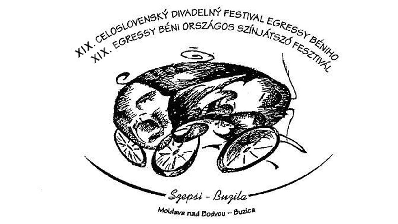2017 LOGÓ - XIX. Egressy Béni Országos Színjátszó fesztivál logója 2017-ben