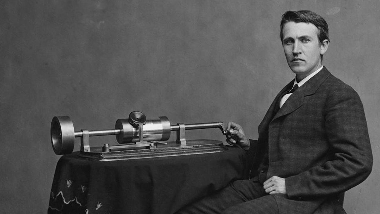 Edison és a fonográf