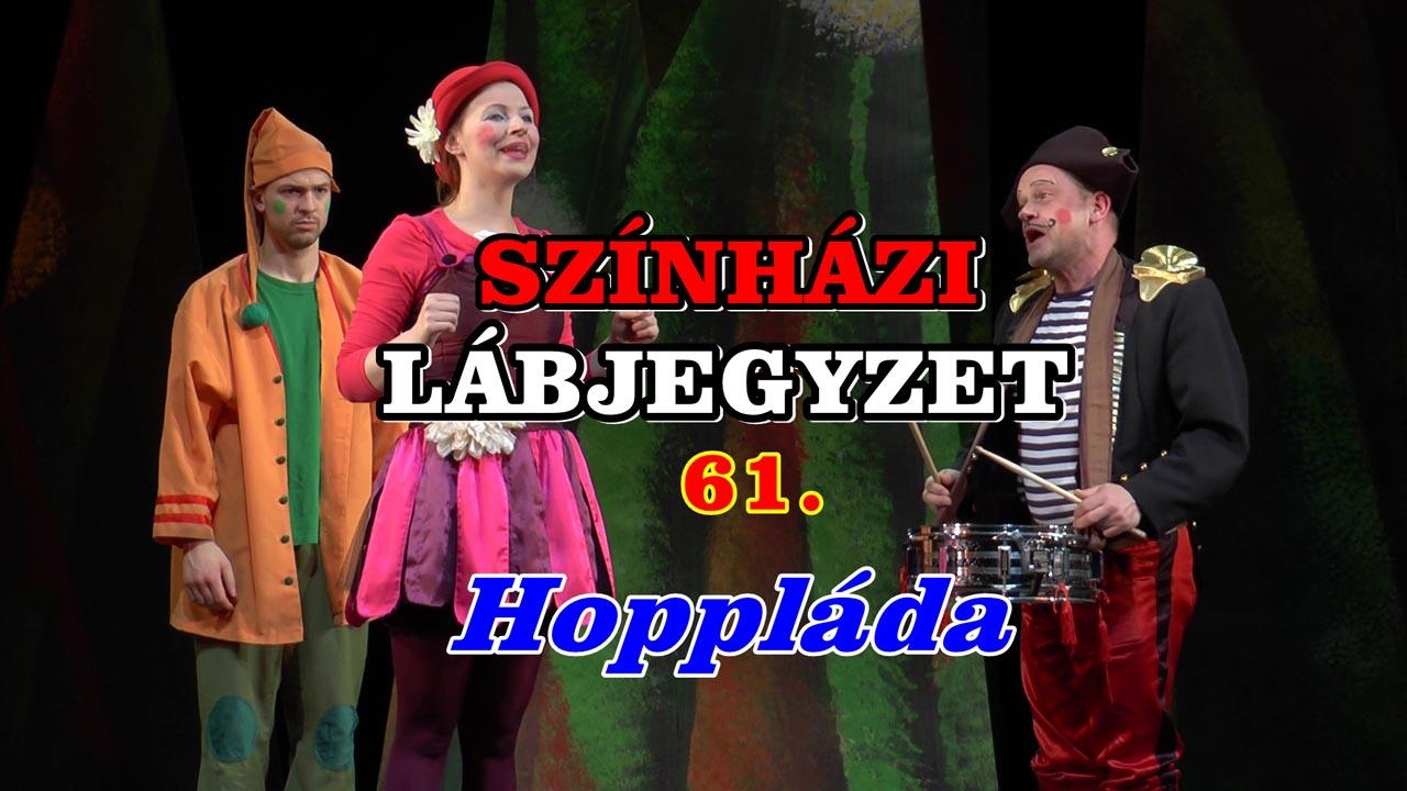 Színházi Lábjegyzet 61. - borító