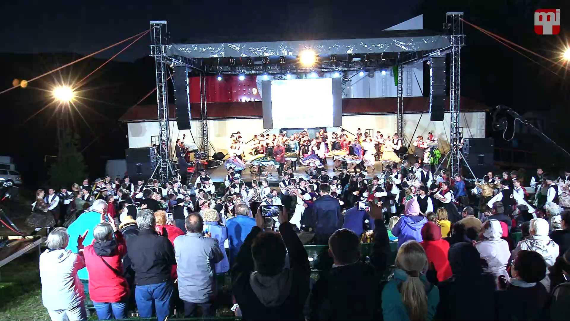 Gombaszögi táncok – ünnepi előadás a fesztivál 60. évfordulója alkalmából