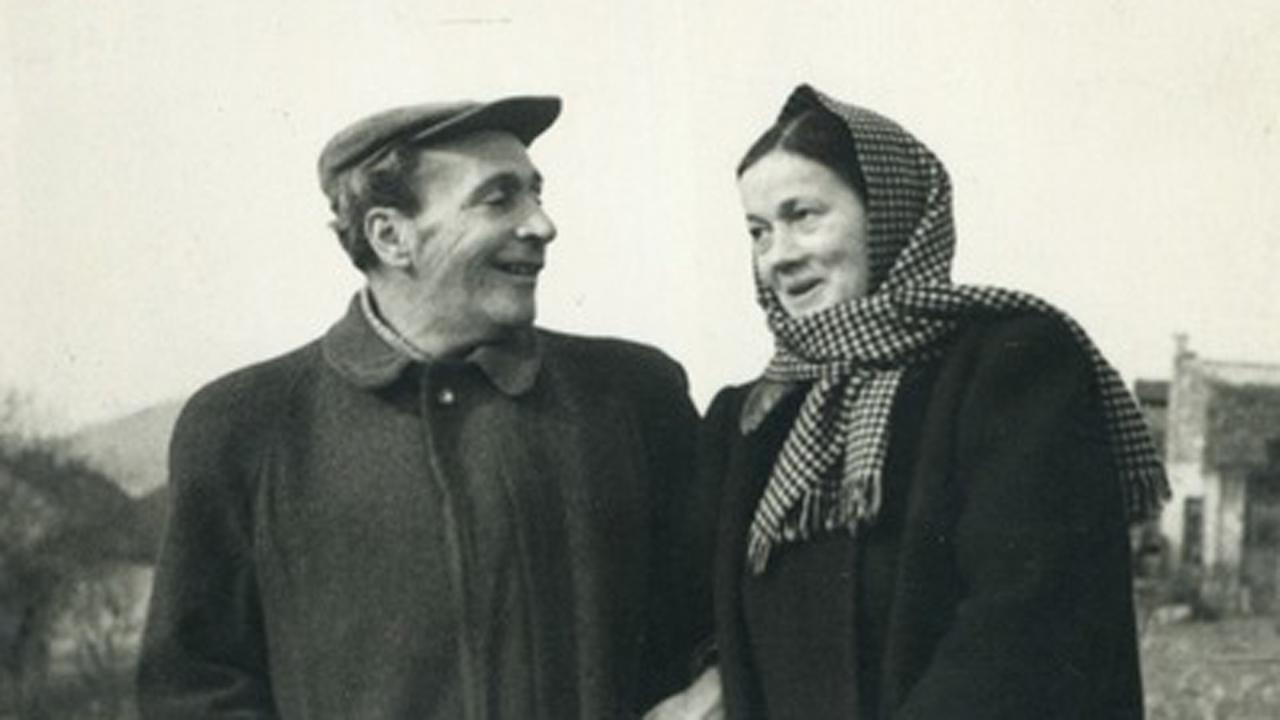 Déry Tibor és Oravecz Paula