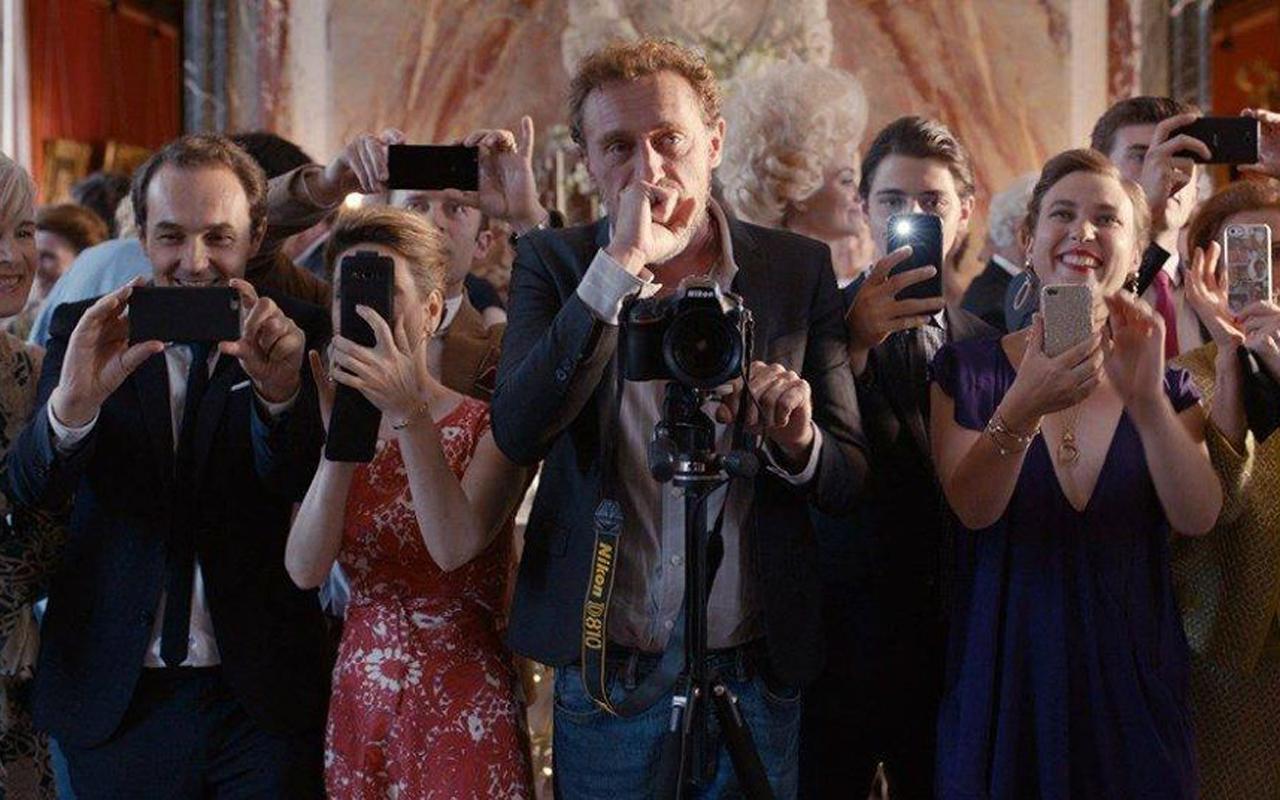Jelenet az eszeveszett esküvő című filmből