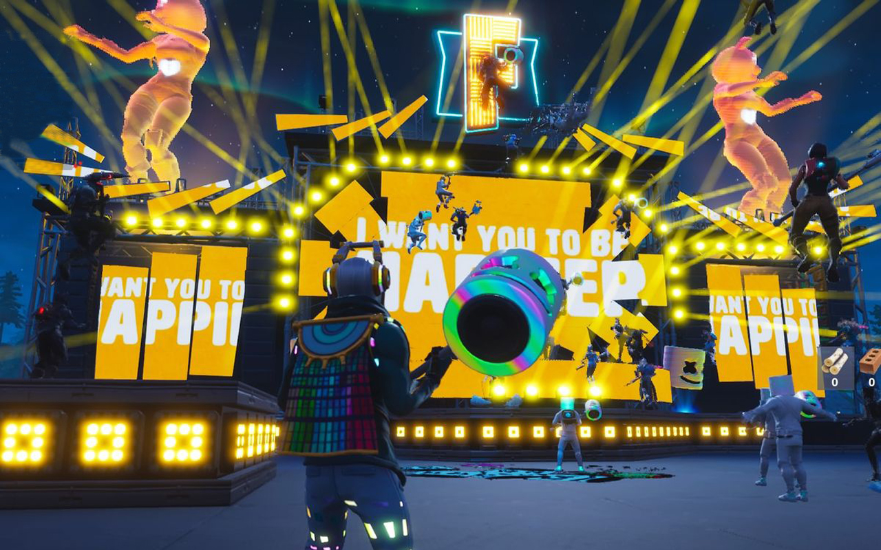 Marshmello Holds First Ever Fortnite Concert Live at Pleasant Park