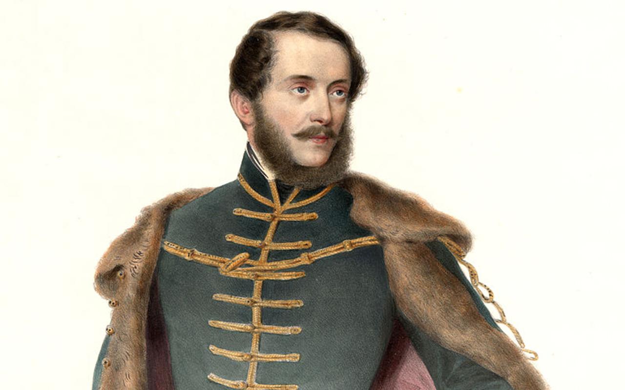 Kossuth_Lajos_színezett_litográfia_1848_Prinzhofer