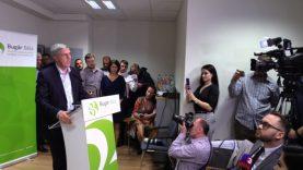 Bugár Béla sajtótájékoztatója az elnökválasztás után