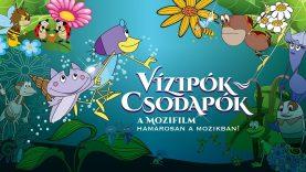 A felújított Vízipók-csodapók április 18-tól a mozikban