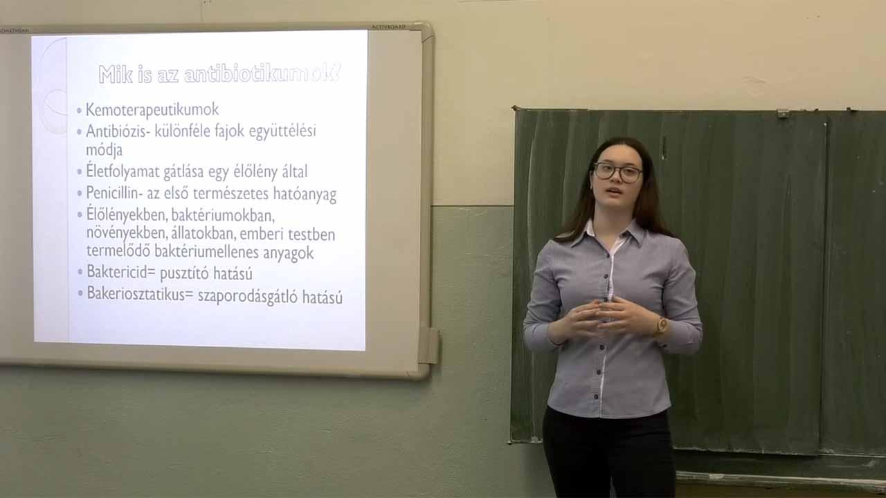 Koller Karolina prezentációja: Antibiotikumok
