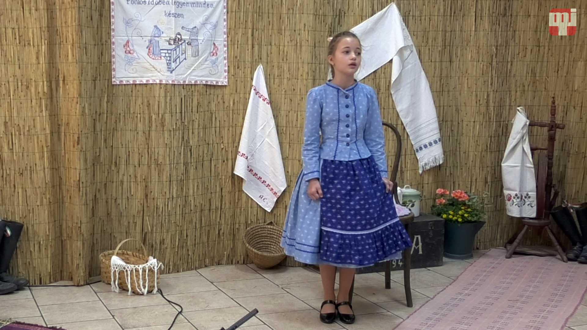 Ipolyi Arnold Népmesemondó Verseny • I. kat. Szullo Vanda, Vágkirályfa