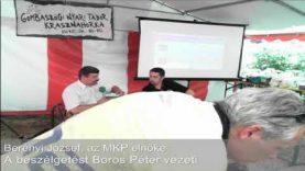 Politikusok a nyári táborokban – 2012