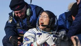 Újra a Földön a Nemzetközi Űrállomás legénysége