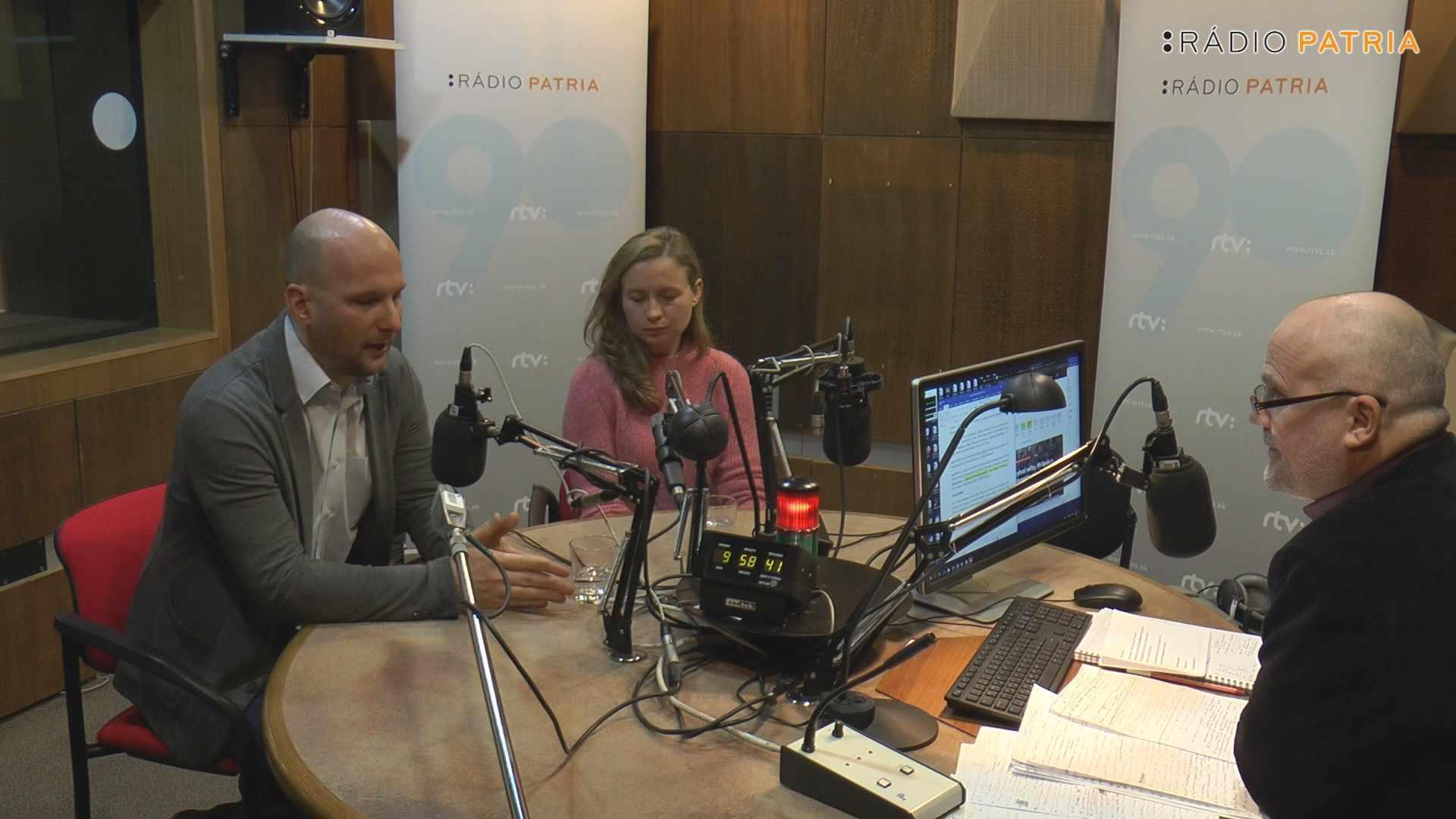 A Pátria Választási stúdiója: Filip Mónika - Grendel Gábor