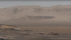 Panorámakép a Mars dűnéiről