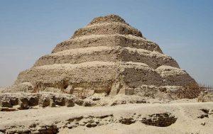 Online bejárható - Dzsószer fáraó lépcsős piramisa